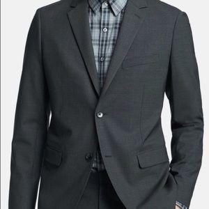 Theory Wellar New Tailor Jacket 40L Dark Charcoal